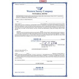 4 Year, $1,000 Oklahoma Notary Bond
