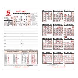Ultimate Financial Calendar Refill for 2021